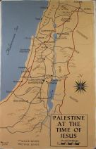 Palestine in Jesus' Day (with Roads)
